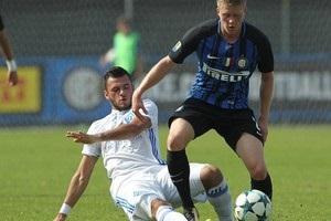 Динамо упустило победу над Интером в Юношеской лиге УЕФА