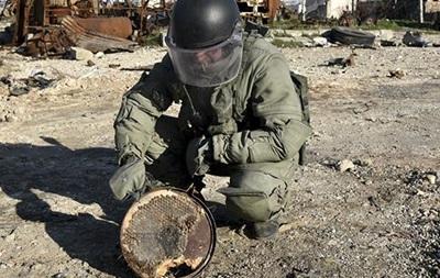 Российские саперы начали разминирование Дейр-эз-Зора