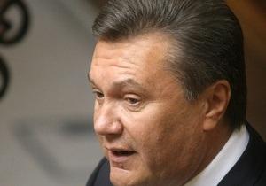 Янукович: Украина рассчитывает на поддержку Евросоюза в переговорах с МВФ