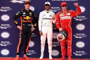 Гран-при Малайзии: Хэмилтон выиграл квалификацию, Феттель – последний