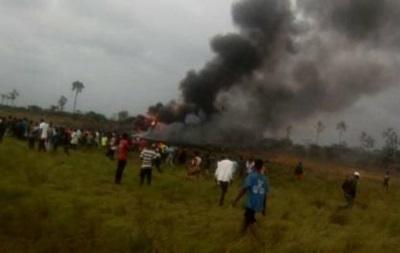 Крушение самолета в Конго: опубликовано фото