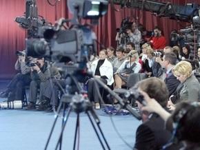 Партия регионов требует от Тимошенко прекратить давление на СМИ