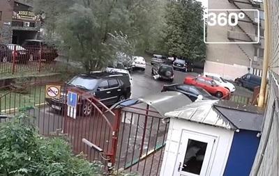 В России пенсионер устроил четыре ДТП за 20 секунд