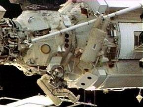 Члены экипажа МКС поработали в вакууме