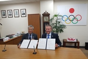 Олімпійські комітети України та Японії підписали меморандум про співпрацю