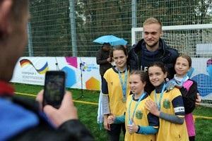 Голкіпер Шахтаря побував на турнірі UNICEF