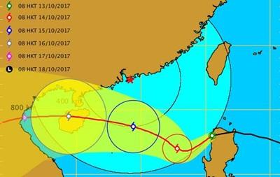 Шторм Ханун угрожает Китаю, Филиппинам и Вьетнаму