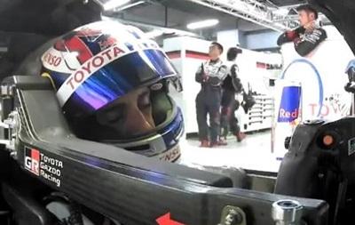 Пілот Toyota заснув за кермом на змаганнях