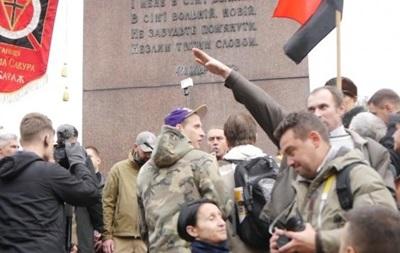 В Киеве задержан мужчина за нацистское приветствие