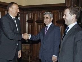 Подписана декларация об урегулировании нагорно-карабахского конфликта