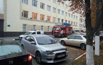 В Херсоне  минировали  областную полицию