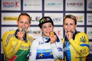 Басова і Клімченко принесли Україні медалі ЧЄ з велотреку
