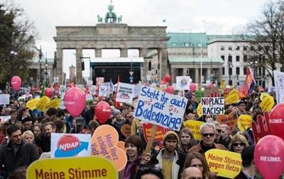 В Берлине прошла акция против расизма