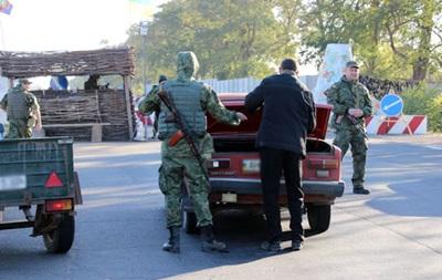 У поліції заявили про масові затримання сепаратистів на блокпостах