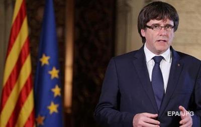 Глава Каталонии отменил официальное заявление