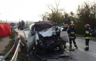 Унаслідок аварії в Польщі загинули двоє українців - ЗМІ