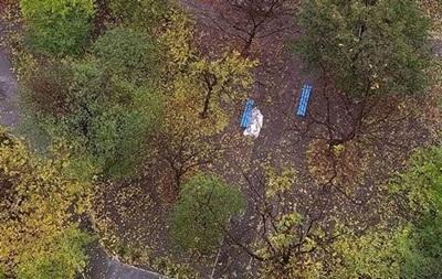 В Киеве обнаружили  брошенный  труп