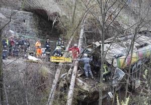 Жертвами аварии поезда в Италии стали девять человек