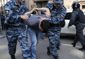 В день инаугурации Путина в Москве задержаны около 300 митингующих. Навальный и Удальцов оштрафованы