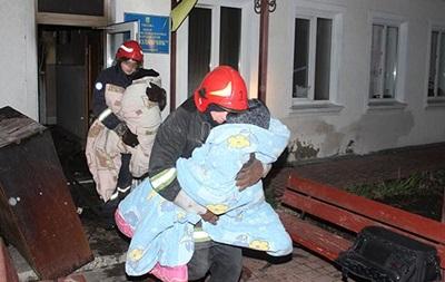 У хмельницькому дитячому реабілітаційному центрі сталася пожежа
