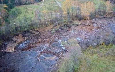 У Росії озеро пішло під землю