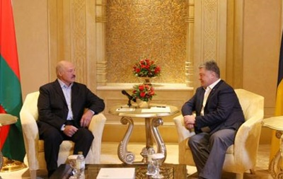 Порошенко встретился в ОАЭ с Лукашенко