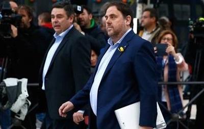 До суду прибула більшість членів усуненого уряду Каталонії