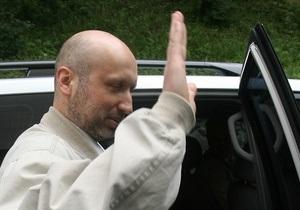 Турчинов прибыл на допрос в СБУ