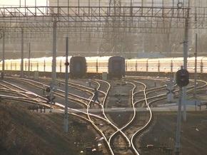 В Днепропетровской области сошел с рельсов локомотив поезда Евпатория-Москва