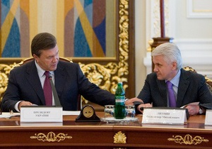 Литвин приготовил для Януковича  духовный подарок