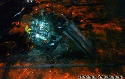 В Харькове Фольксваген протаранил на парковке четыре машины