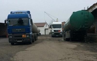 На Черниговщине задержали расхитителей нефтепродуктов