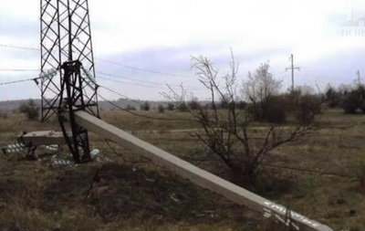 На Днепропетровщине обесточены три села из-за воров металлолома