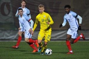 Украинская молодежка впервые проиграла в отборе на Евро-2019