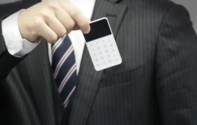 В Японии выпустили крошечный смартфон