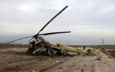 В Ираке разбился военный вертолет: семь погибших