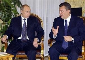Путин приедет к Януковичу в Крым