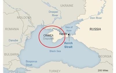 The New York Times прокомментировала карту со спорным Крымом