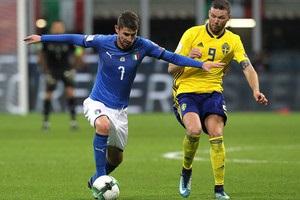Италия – Швеция 0:0 обзор матча