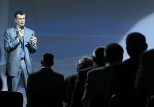 Прохоров будет создавать свою партию в ходе предвыборной кампании