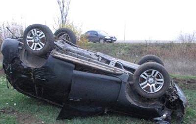 В Запорожской области на трассе перевернулась Toyota, есть жертвы