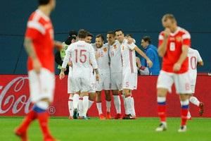 Товариські матчі: Росія і Іспанія забили шість голів на двох