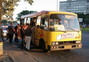 Киевские маршрутки заставят ездить с кондиционерами и навигаторами