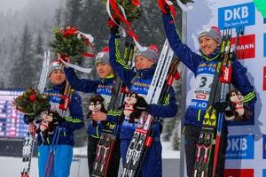Стал известен состав сборной Украины на первый этап Кубка мира по биатлону
