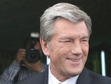 Ющенко уединился с Мубараком
