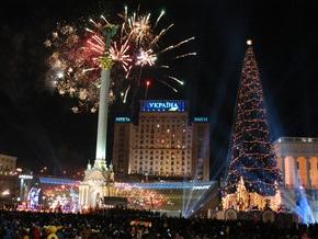 На Майдане Незалежности зажгли главную елку страны