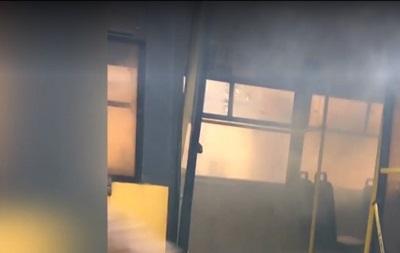 У Чернівцях на ходу загорівся тролейбус