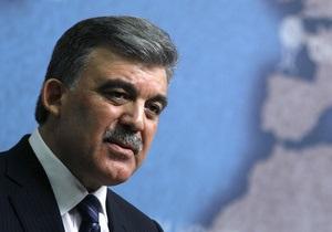 Президент Турции Абдулла Гюль помещен в больницу