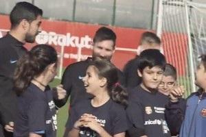 Вальверде уступил детям право потренировать звезд Барселоны