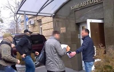 У Київавтодорі та Київзеленбуді йдуть обшуки